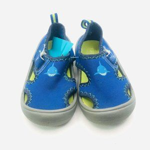 Speedo toddler water shoes blue size S (fits 5/6 t